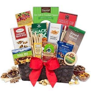 GourmetGiftBaskets.com Snack Gift Basket - Premium
