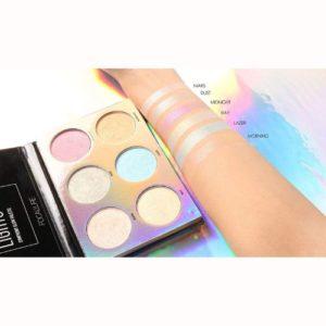 3 Color Makeup Unicorn Luminous Shimmer Glow Kit Highlighter Powder Palette