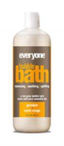 Everyone bubble bath