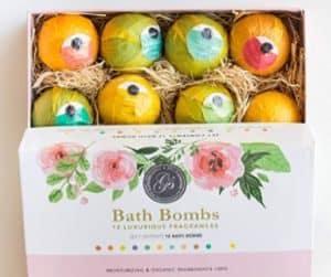 Grace & Stella bath bombs