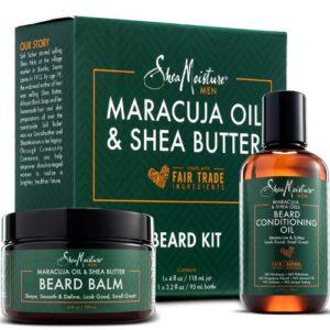 Shea Moisture Maracuja & Shea Butter Beard Kit