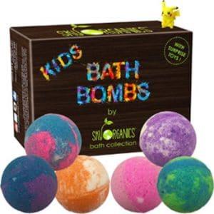 SkyOrganics Kids bath bombs
