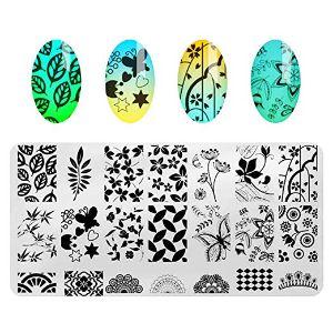 AIMEILI Nail Art Stamping Kit