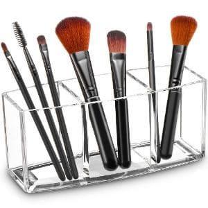 Tasybox Clear Makeup Brush Holder