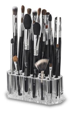 byAlegory Acrylic Makeup Beauty Brush Organizer
