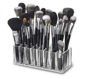byAlegory Acrylic Makeup Brush Organizer