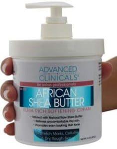 Advanced Clinicals Shea Butter Ultra Rich Softening Cream