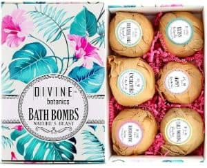 Divine Botanics Essential Oils Bath Bombs Set-min