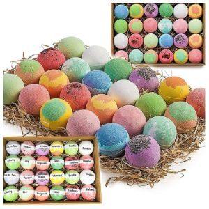 Nurture Me Organics Bulk Bath Bombs Gift Set-min