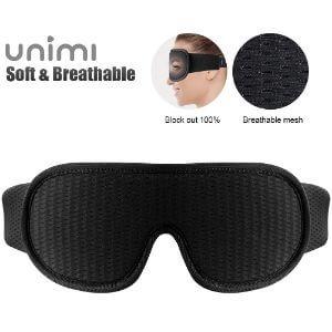 Unimi 3D Sleep Mask with Breathable Hole