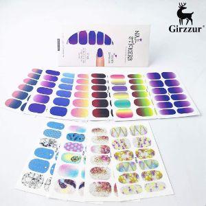 Girzzur Nail Color Glitter Gradient Strips