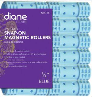 Diane Snap On Magnetic Roller, Blue, 5 8-min