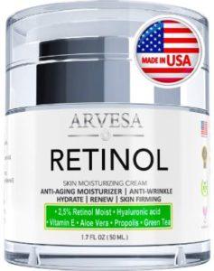 Arvesa Retinol Skin Moisturizing Cream