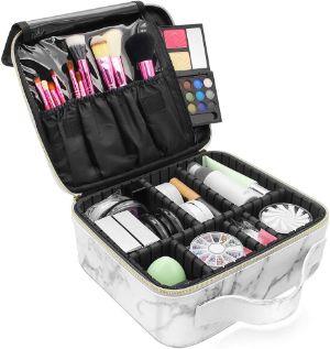LKE Marble Makeup Organizer-min