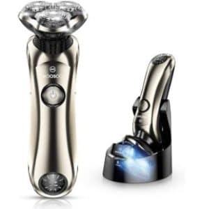 MOOSOO Electric Razor for Men