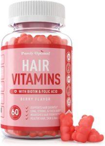 Purely Optimal Hair Vitamins