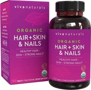 Viva Naturals Hair, Skin, and Nails Vitamins