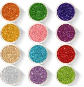 Wenida Holographic Cosmetic Festival Glitter Powder (12 Pots)