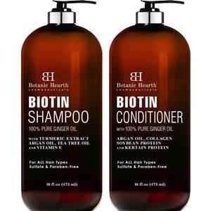 BOTANIC HEARTH Biotin Shampoo and Conditioner
