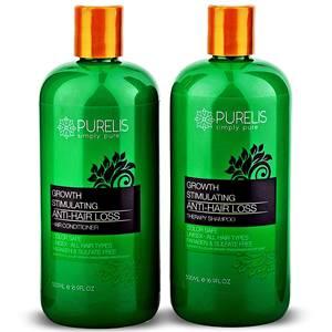 Purelis Hair Growth Shampoo & Conditioner